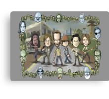 The Walking Dead by Kenny Durkin Canvas Print