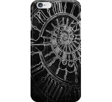 The Passage of Time (blk/wht) iPhone Case/Skin