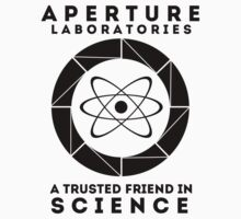 Aperture - Science Friend by cajunpygmy
