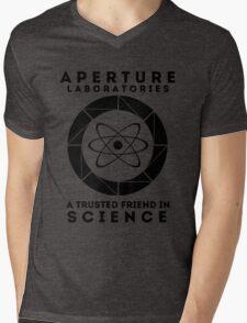 Aperture - Science Friend Mens V-Neck T-Shirt