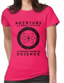 Aperture - Science Friend Womens Fitted T-Shirt