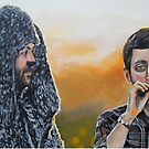 Wilfred and Ryan by Kevin J Cooper