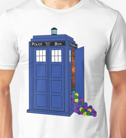 Police Box Yarn Box Unisex T-Shirt