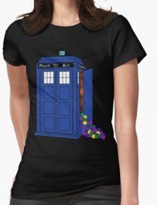 Police Box Yarn Box Womens Fitted T-Shirt