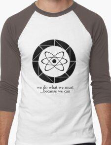 Aperture - Because We Can Men's Baseball ¾ T-Shirt