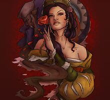 Belle and Beast V2 by nicolealesart