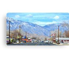 Highway 395 Canvas Print