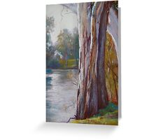 Goulburn River Gums Greeting Card