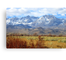 Scenic Sierras Canvas Print