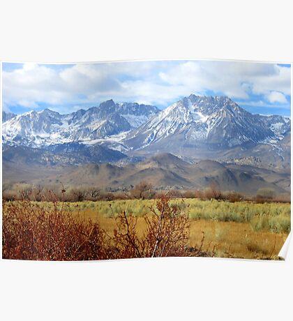 Scenic Sierras Poster