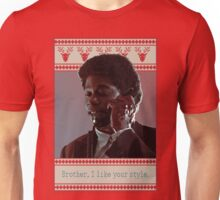 Brother, I like your style Unisex T-Shirt