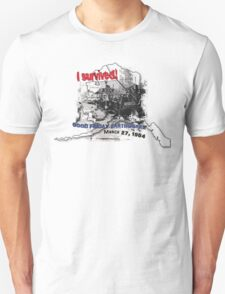 I SURVIVED GOOD FRIDAY EARTHQUAKE W/ AK SILHOUETTE T-Shirt