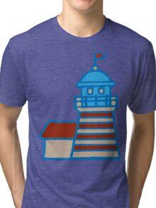 Cute Lighthouse Tri-blend T-Shirt