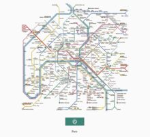 paris subway by Я M