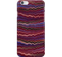 Antique Marbled Paper Blue White Red iPhone Case/Skin