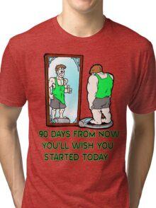 90 Day Challenge Tri-blend T-Shirt