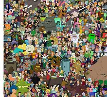 Futurama Cast by CooliPhones