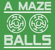 A Maze Balls Kids Tee