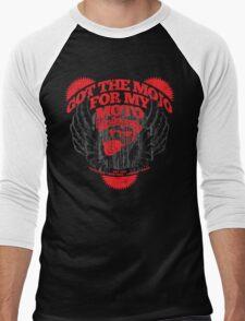 Motorman Mojo Men's Baseball ¾ T-Shirt