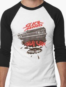 Slickmind Fastcar 1 Men's Baseball ¾ T-Shirt