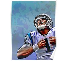Cam Newton #3 Poster