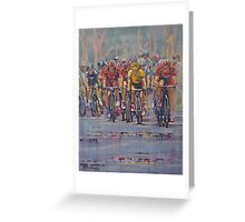 Cadel's Tour Greeting Card
