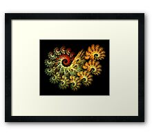 Toxic Coral Framed Print