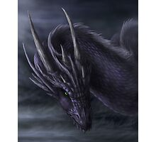 Dark Dragon Photographic Print