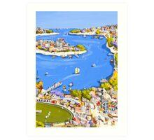 Summer voyage Art Print