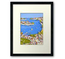 Summer voyage Framed Print
