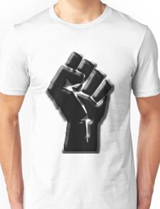 The Black Fist Unisex T-Shirt