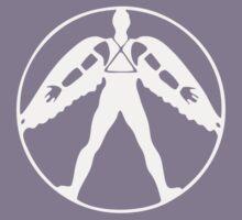 Icarus (light on dark) Kids Tee
