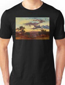 Sunset landscape Unisex T-Shirt