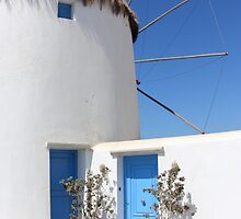Windmill House Mykonos by Carole-Anne