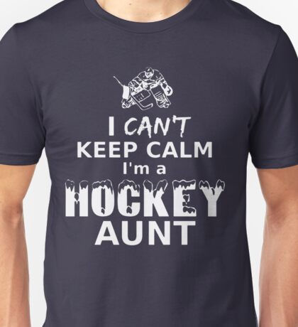 I'M A HOCKEY AUNT Unisex T-Shirt