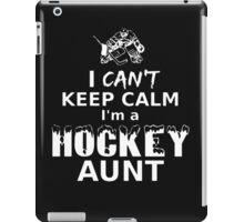 I'M A HOCKEY AUNT iPad Case/Skin