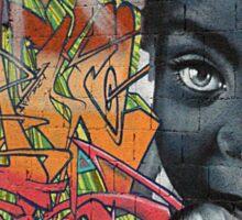 Graffiti Boy Sticker