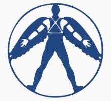 Icarus - blue Kids Tee