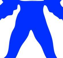 Icarus - blue Sticker