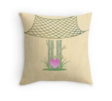 Catch Love Throw Pillow