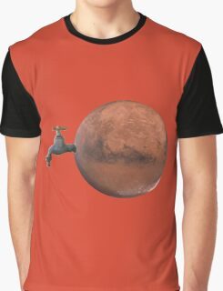 Water on Mars! Graphic T-Shirt