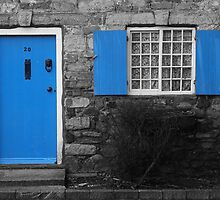 Blue Door by AndyHuntley