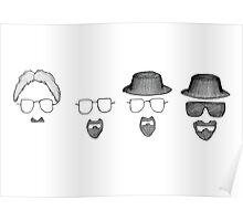 Walt to Heisenberg Poster