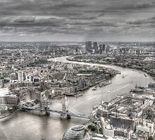 London from Above by AndyHuntley