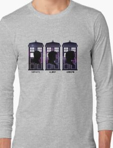 Doctor Who - 9, 10 & 11 Catchphrases Long Sleeve T-Shirt