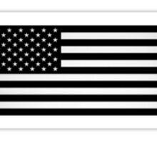 black flag baseball Sticker