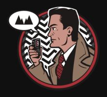 "Agent Cooper from the Television Program ""Twin Peaks"" by PlasticBlast"