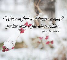 Proverbs Above Rubies by Kimberose