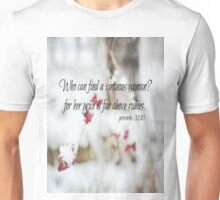 Proverbs Above Rubies Unisex T-Shirt