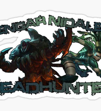 Headhunter Nidalee & Rengar Sticker